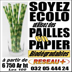 LES PAILLES EN PAPIER, C\